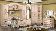 Антресоль Василиса над кроватью 140 570х1480х540мм   Мастер Форм, фото 3
