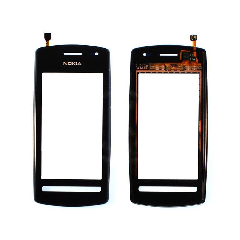 Touchscreen Nokia 600 + frame Black OR