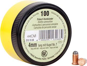 Патрон Флобера RWS Flobert Cartridges кал. 4 мм lang (Long) пуля