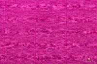 Гофрированная бумага (креп) Cartotecnica Rossi Cyclamen № 552 Италия