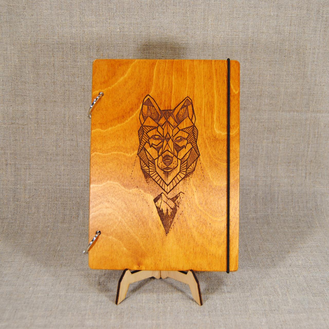 Блокнот. Скетчбук. Блокнот с деревянной обложкой. Блокнот в деревянном переплете. Деревянный блокнот