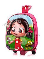 Рюкзак школьный на колесах!