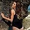 Сдельный купальник, украшен рисунком цветов, MARKO M 554 CASSANDRA. Есть большие размеры, фото 3