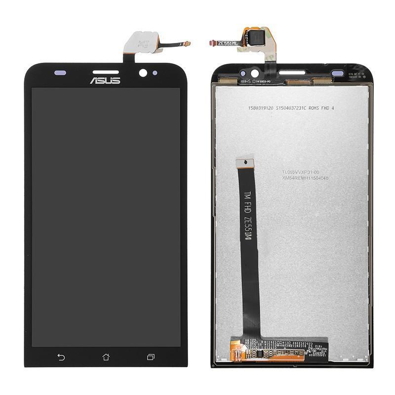 "LCD ASUS Zenfone 2 (5.5"") + touch Black Original (ZE551ML)"