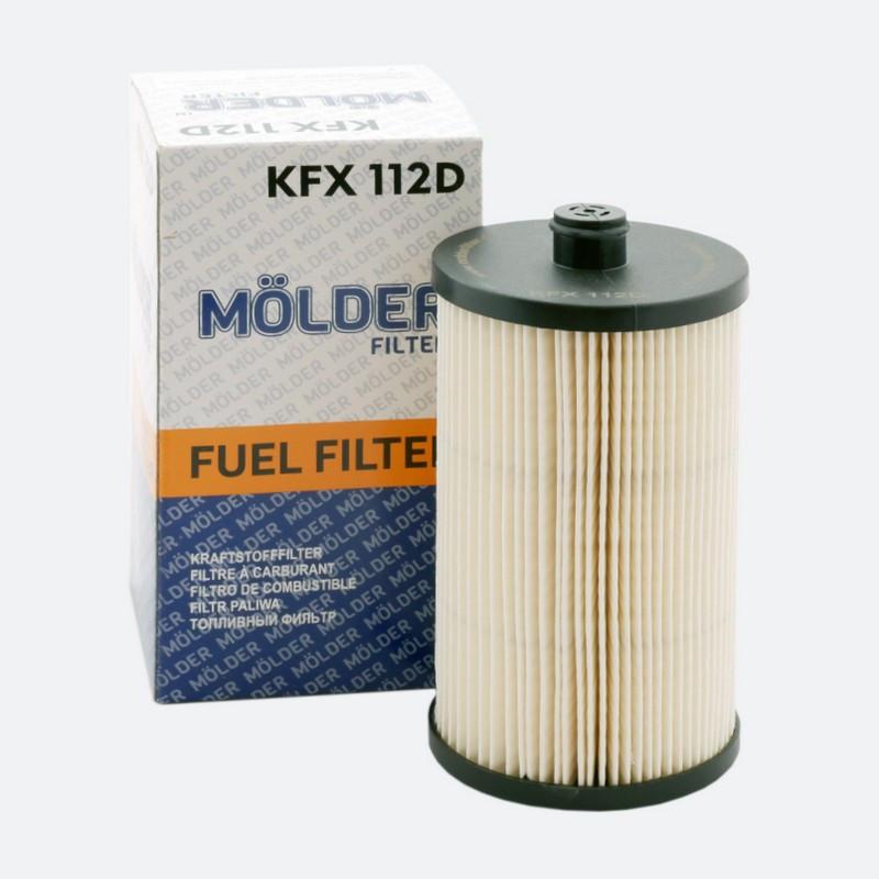 Топливный фильтр MOLDER аналог WF8392/KX222DEco/PU816X (KFX112D)