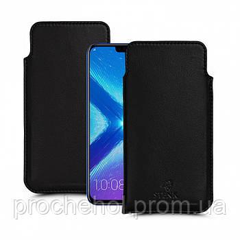 Футляр Stenk Elegance для Huawei Honor 8X Чёрный