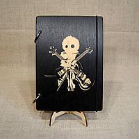 Скетчбук Furi Kuri . Блокнот с деревянной обложкой Фури кури., фото 1