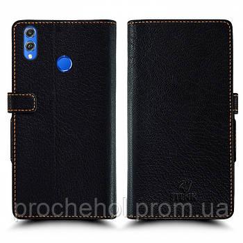 Чехол книжка Stenk Wallet для Huawei Honor 8X Чёрный