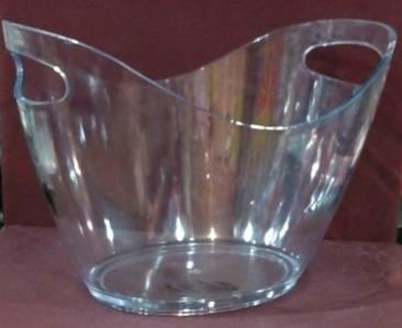 Чаша прозрачная для шампанского V 7000 мл (шт)  EM1698