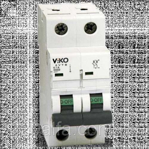 Автоматический выключатель VIKO, 2P, C, 32A