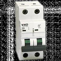 Автоматический выключатель VIKO, 2P, C, 10A