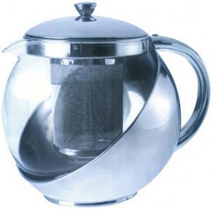 Заварник стеклянный для чая V 900 мл( шт)