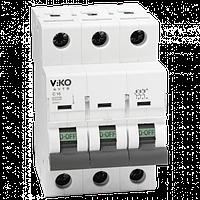 Автоматический выключатель VIKO, 3P, C, 32A