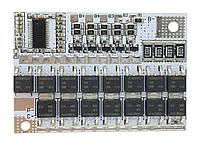 BMS защитная плата заряда Li-ion аккумуляторов 4S 100A Балансировочная версия 4S 100A