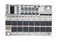 BMS защитная плата заряда Li-ion аккумуляторов 3S 100A Балансировочная версия 3S 100A