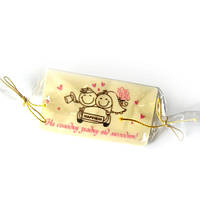 Оригинальные подарки гостям на свадьбу. Подарки из шоколада