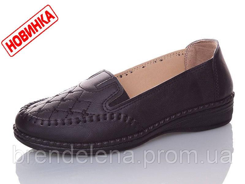 Женские туфли-мокасины р 37-42(код 2739-00)
