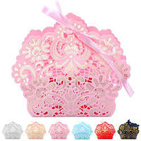 Бонбоньерка (коробочка для конфет) 10.5*3*9.5см 50шт/уп N00488 (3600шт)