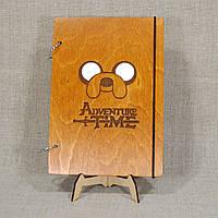 Блокнот. Скетчбук. Блокнот с деревянной обложкой. Блокнот в деревянном переплете. Деревянный блокнот, фото 1