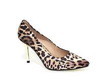 Леопардовые женские туфли на шпильке