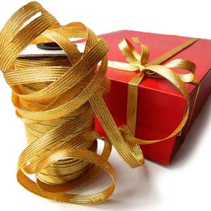 Подарочные ленты и банты