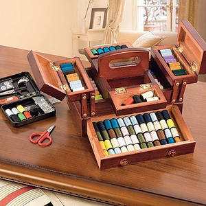 органайзери і шкатулки для рукоділля
