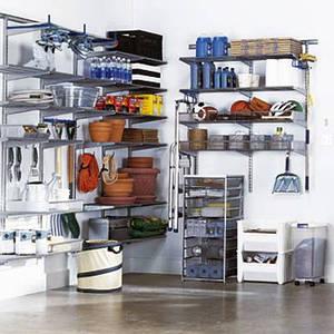 Организация места в гараже и кладовой