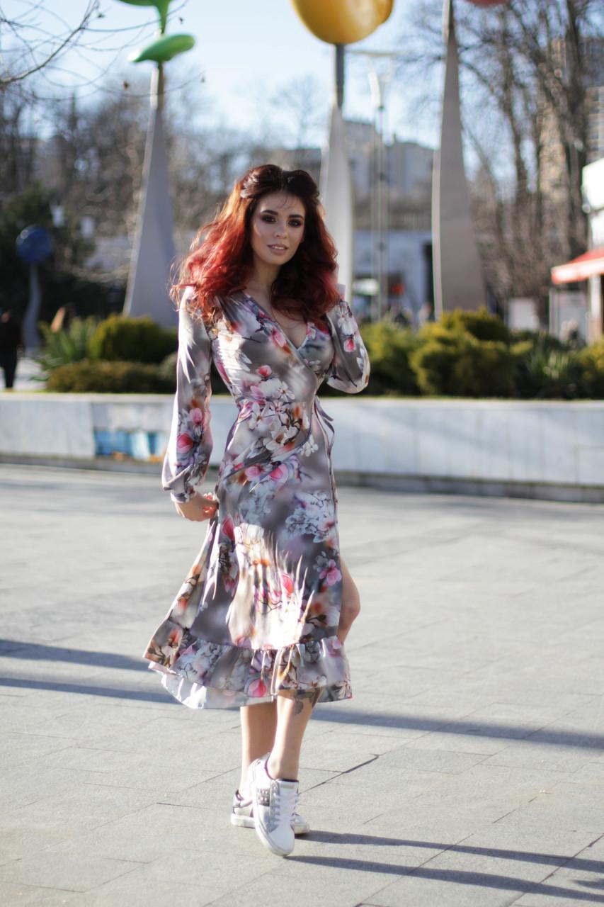 Трендовое платье 3988