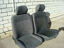 Сидіння передні ЗАЗ 1102 Таврия 1103 Славута 1105 Дана 11055 Пікап неоткидные пара ср упоряд бу