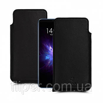 Футляр Stenk Elegance для Meizu Note 8 Чёрный