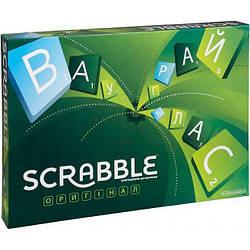 """Настольная игра """"Scrabble"""" Оригинал (укр.) Mattel (BBD15)"""