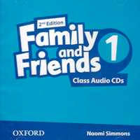 Family and Friends 1 Class Audio CD (2) /2nd edition/