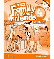 Family and Friends 4 Workbook and Online Practice Pack /2nd edition/