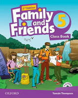 Family and Friends 5 Class Book Pack /2nd edition/