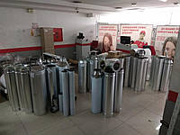 Дымоход одностенный  Ø100 (AISI 304) 0,5мм