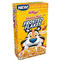 Сухой завтрак Хлопья Kellogg's Frosted Flakes Honey Nut Breakfast Cereal
