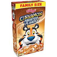 Сухой завтрак Хлопья Kellogg's Frosted Flakes Breakfast Cereal, Cinnamon