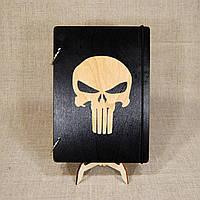 Скетчбук Черп. Блокнот с деревянной обложкой., фото 1
