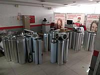 Дымоход одностенный  Ø100 (AISI 430) 0,8мм, фото 1