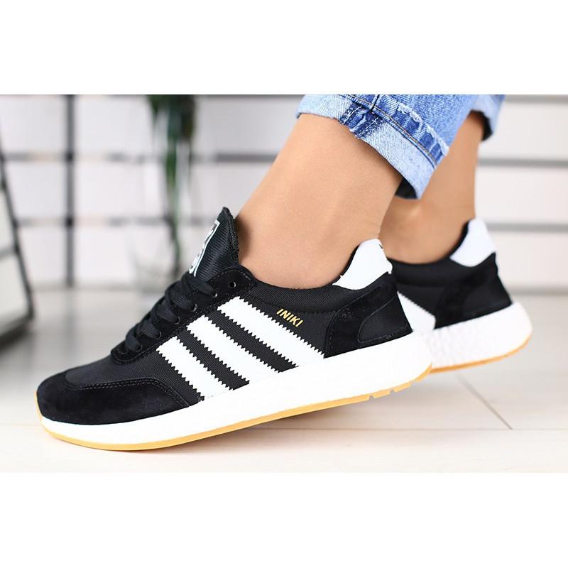 f404d771 Женские кроссовки Adidas Iniki Runner черные р.36 Акция -47%!, цена ...
