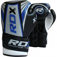 Детские перчатки для бокса RDX Blue.  Синий