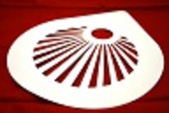 "Трафарет для Торта ""Солнце""250мм(шт) ЕМ8749"
