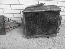 Радиатор охлаждения ГАЗ Волга 2410 3102 31029 РАФ 31029 медный бу
