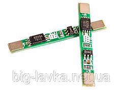 BMS контроллер 1S 3A для Li-ion аккумуляторов