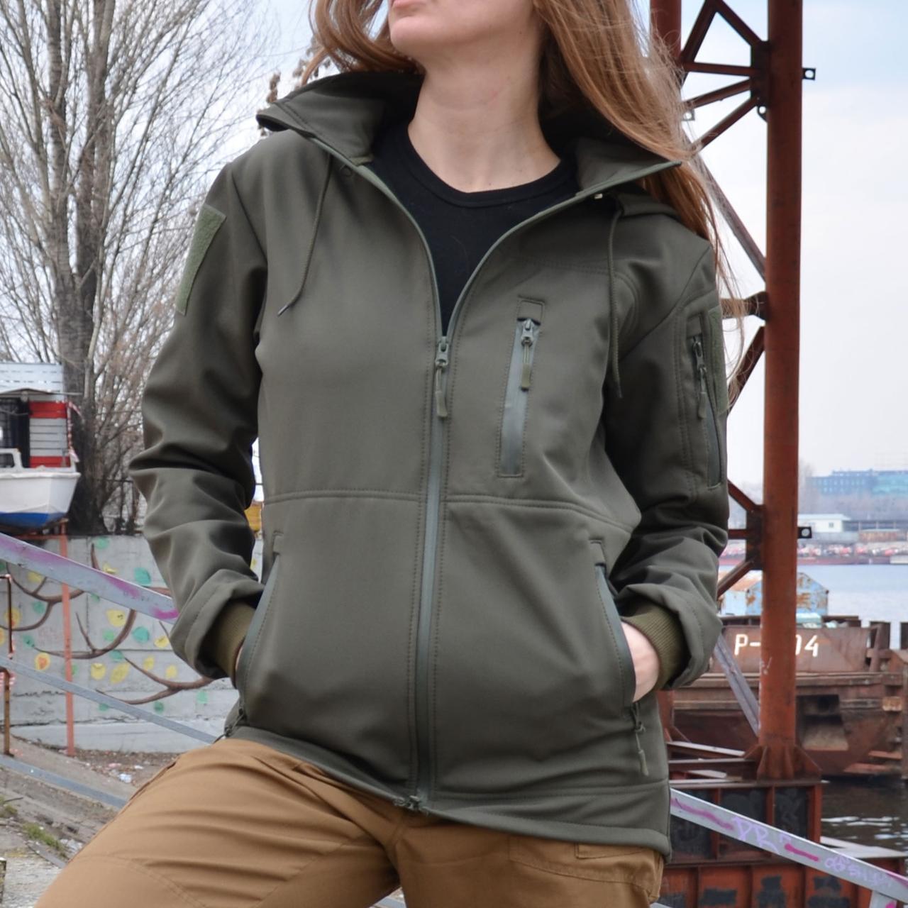 Куртка Softshell (софтшелл) GROM Olive