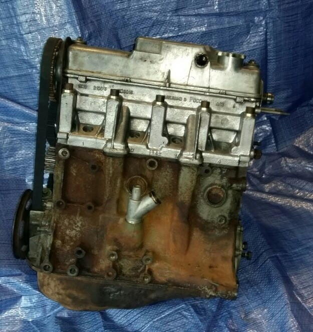 Двигатель карбюраторный 1.5 ВАЗ 2108 2109 21099 2110 2111 2112 2113 2114 2115  карбюратор отл сост бу
