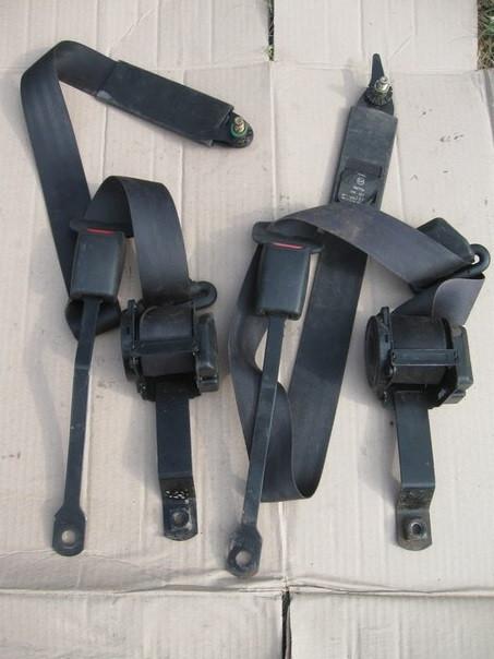 Ремни инерционные передние ВАЗ 2108 2109 21099 2113 2114 2115 комплект бу