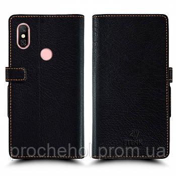 Чехол книжка Stenk Wallet для Xiaomi Redmi Note 6 Pro Чёрный