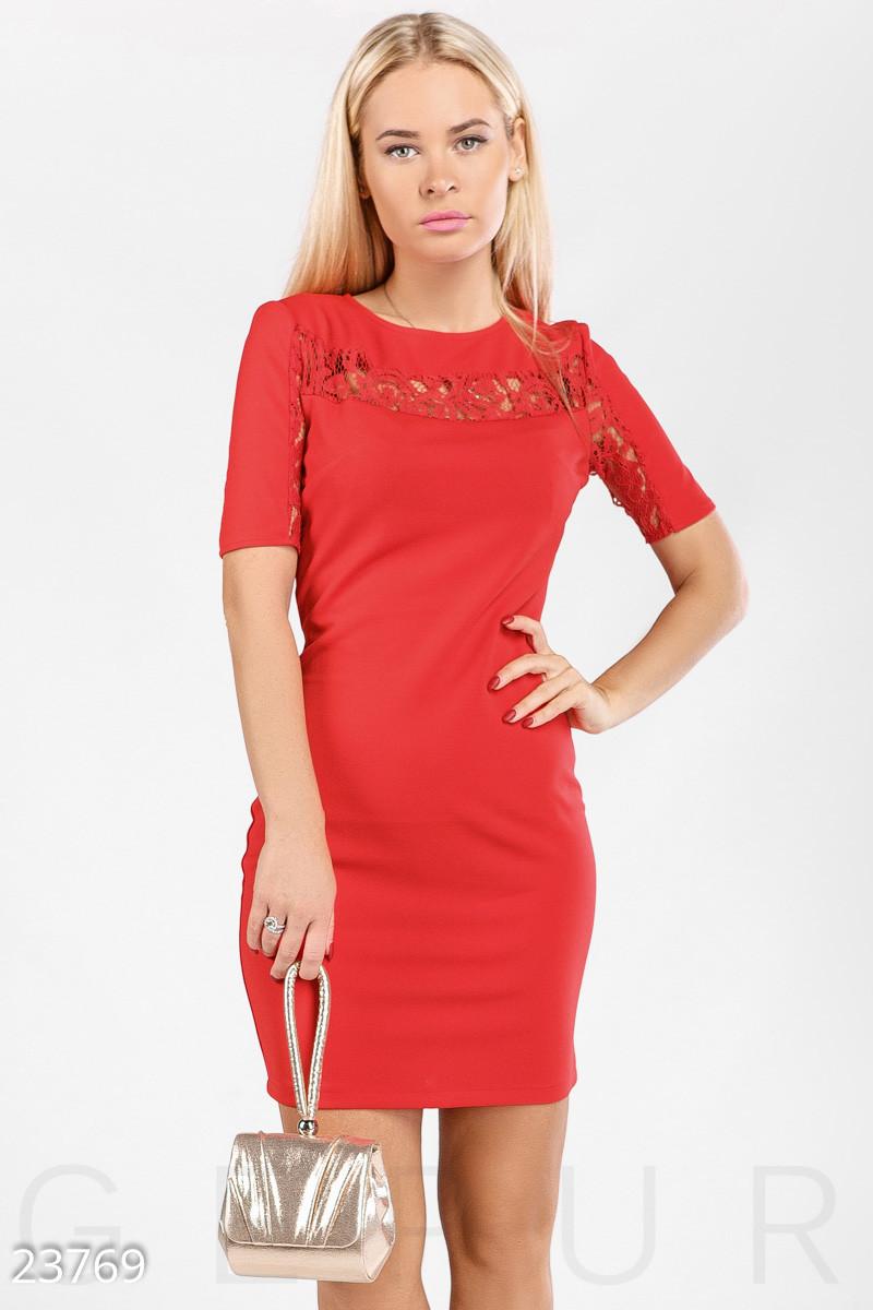 311788115df Короткое Красное Платье с Открытой Спиной — в Категории