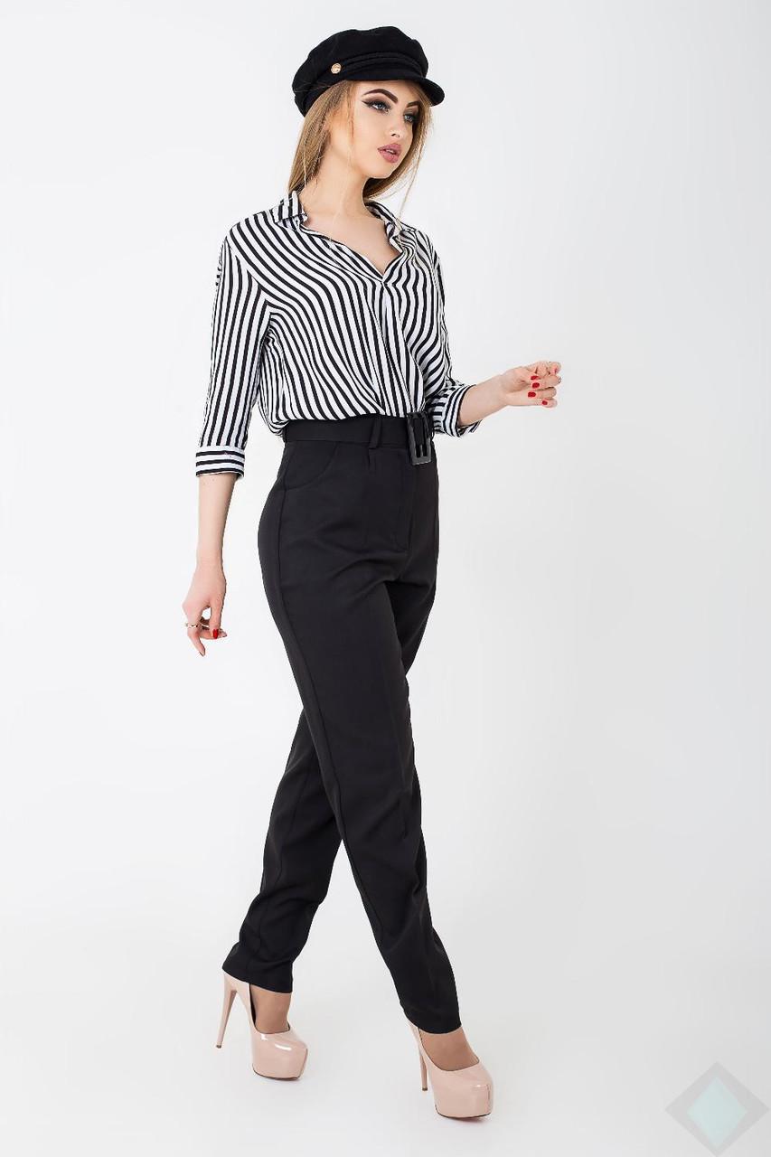 Стильные брюки с поясом Джаз